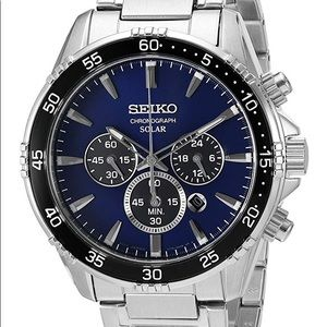 Brand new SEIKO solar power watch